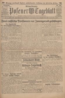 Posener Tageblatt. Jg.53, Nr. 500 (24 Oktober 1914)
