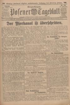 Posener Tageblatt. Jg.53, Nr. 501 (25 Okober 1914) + dod.