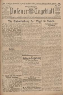 Posener Tageblatt. Jg.53, Nr. 507 (29 Oktober 1914) + dod.