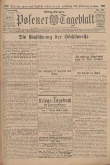 Posener Tageblatt. Jg.53, Nr. 508 (29 Oktober 1914)