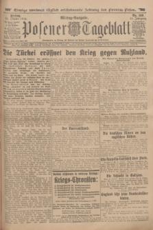 Posener Tageblatt. Jg.53, Nr. 510 (30 Oktober 1914)