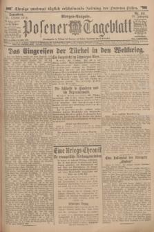 Posener Tageblatt. Jg.53, Nr. 511 (31 Oktober 1914) + dod.