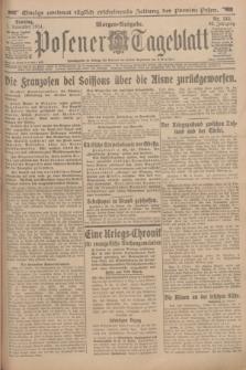 Posener Tageblatt. Jg.53, Nr. 513 (1 November 1914) + dod.