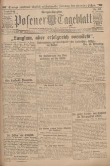 Posener Tageblatt. Jg.53, Nr. 519 (5 November 1914) + dod.