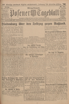 Posener Tageblatt. Jg.53, Nr. 544 (20 November 1914)