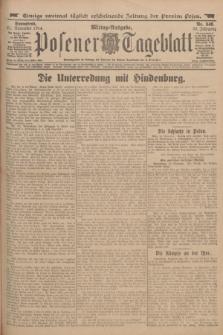Posener Tageblatt. Jg.53, Nr. 546 (21 November 1914)