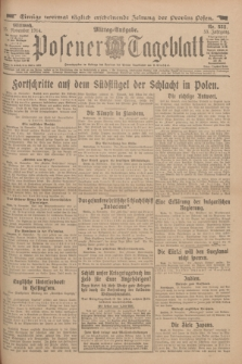 Posener Tageblatt. Jg.53, Nr. 552 (25 November 1914)
