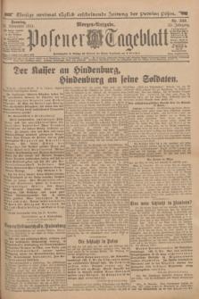 Posener Tageblatt. Jg.53, Nr. 559 (29 November 1914) + dod.