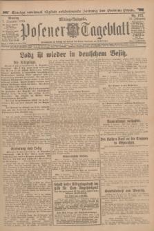 Posener Tageblatt. Jg.53, Nr. 572 (7 Dezember 1914)