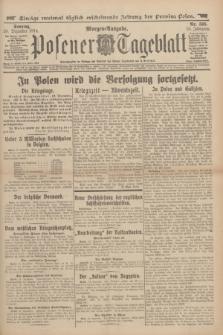 Posener Tageblatt. Jg.53, Nr. 595 (20 Dezember 1914) + dod.
