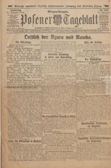 Posener Tageblatt. Jg.53, Nr. 609 (31 Dezember 1914) + dod.