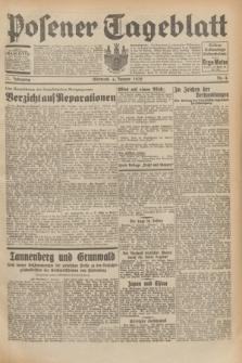 Posener Tageblatt. Jg.71, Nr. 4 (6 Januar 1932) + dod.