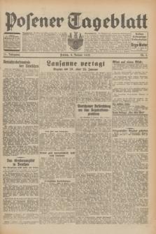 Posener Tageblatt. Jg.71, Nr. 5 (8 Januar 1932) + dod.