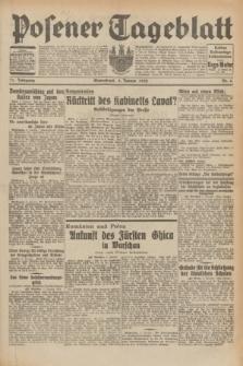 Posener Tageblatt. Jg.71, Nr. 6 (9 Januar 1932) + dod.