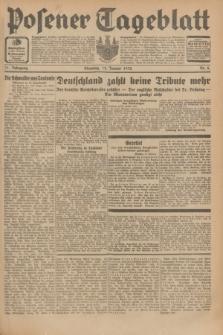 Posener Tageblatt. Jg.71, Nr. 8 (12 Januar 1932) + dod.