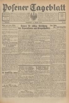 Posener Tageblatt. Jg.71, Nr. 12 (16 Januar 1932) + dod.