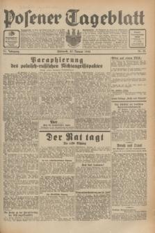 Posener Tageblatt. Jg.71, Nr. 21 (27 Januar 1932) + dod.