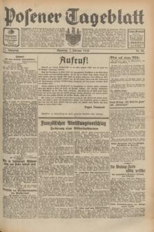 Posener Tageblatt. Jg.71, Nr. 30 (7 Februar 1932) + dod.