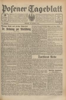 Posener Tageblatt. Jg.71, Nr. 32 (10 Februar 1932) + dod.
