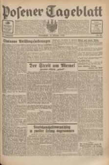Posener Tageblatt. Jg.71, Nr. 35 (13 Februar 1932) + dod.