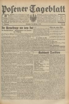 Posener Tageblatt. Jg.71, Nr. 43 (23 Februar 1932) + dod.