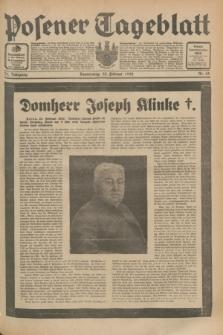 Posener Tageblatt. Jg.71, Nr. 45 (25 Februar 1932) + dod.