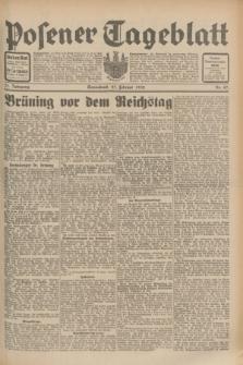 Posener Tageblatt. Jg.71, Nr. 47 (27 Februar 1932) + dod.