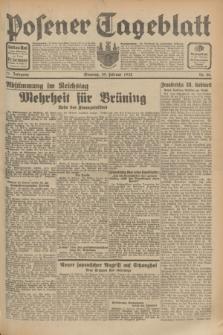 Posener Tageblatt. Jg.71, Nr. 48 (28 Februar 1932) + dod.