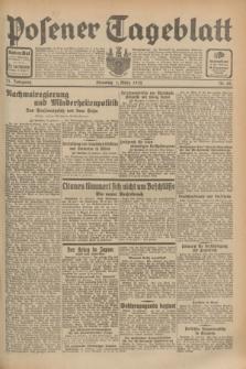 Posener Tageblatt. Jg.71, Nr. 49 (1 März 1932) + dod.