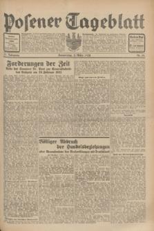 Posener Tageblatt. Jg.71, Nr. 51 (3 März 1932) + dod.