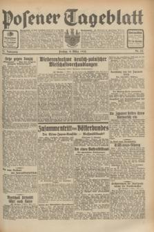 Posener Tageblatt. Jg.71, Nr. 52 (4 März 1932) + dod.