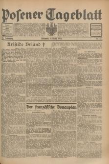 Posener Tageblatt. Jg.71, Nr. 56 (9 März 1932) + dod.