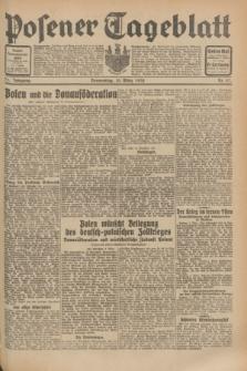 Posener Tageblatt. Jg.71, Nr. 57 (10 März 1932) + dod.