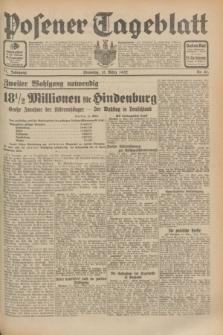 Posener Tageblatt. Jg.71, Nr. 61 (15 März 1932) + dod.