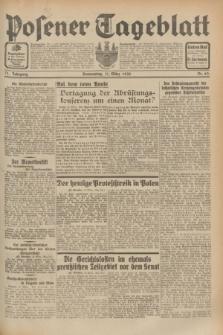 Posener Tageblatt. Jg.71, Nr. 63 (17 März 1932) + dod.