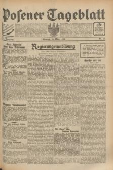 Posener Tageblatt. Jg.71, Nr. 67 (22 März 1932) + dod.