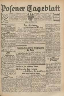 Posener Tageblatt. Jg.71, Nr. 70 (25 März 1932) + dod.