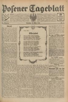 Posener Tageblatt. Jg.71, Nr. 71 (27 März 1932) + dod.