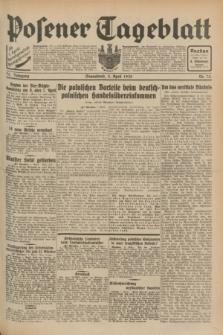 Posener Tageblatt. Jg.71, Nr. 75 (2 April 1932) + dod.