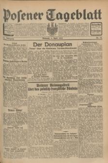 Posener Tageblatt. Jg.71, Nr. 78 (6 April 1932) + dod.