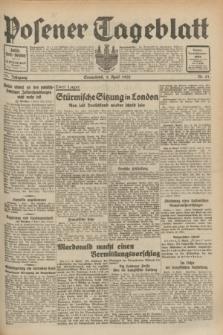 Posener Tageblatt. Jg.71, Nr. 81 (9 April 1932) + dod.