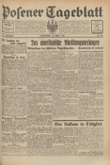 Posener Tageblatt. Jg.71, Nr. 85 (14 April 1932) + dod.