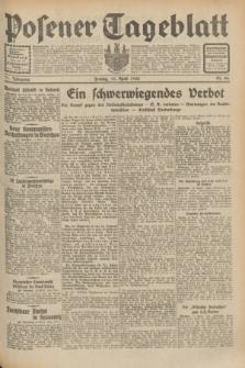 Posener Tageblatt. Jg.71, Nr. 86 (15 April 1932) + dod.