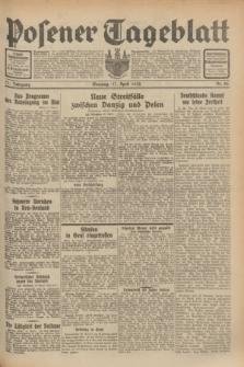 Posener Tageblatt. Jg.71, Nr. 88 (17 April 1932) + dod.