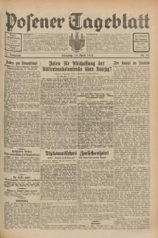 Posener Tageblatt. Jg.71, Nr. 89 (19 April 1932) + dod.
