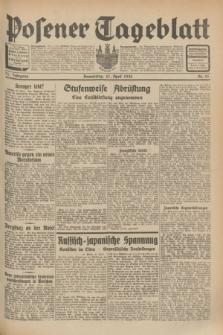 Posener Tageblatt. Jg.71, Nr. 91 (21 April 1932) + dod.