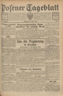 Posener Tageblatt. Jg.71, Nr. 96 (27 April 1932) + dod.