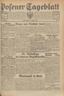 Posener Tageblatt. Jg.71, Nr. 97 (28 April 1932) + dod.