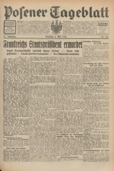 Posener Tageblatt. Jg.71, Nr. 104 (8 Mai 1932) + dod.
