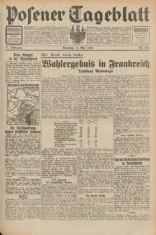 Posener Tageblatt. Jg.71, Nr. 105 (10 Mai 1932) + dod.